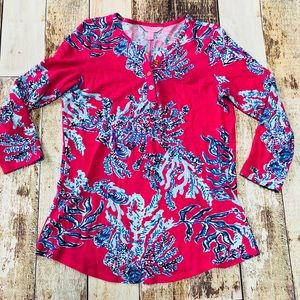 Lily Pulitzer Kirby Top in Samba size S.
